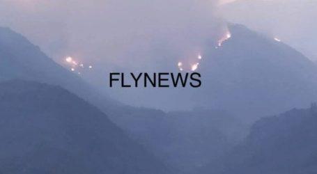 Μεγάλη φωτιά στην Ανατολική Μάνη – Εκκενώνεται το Γύθειο