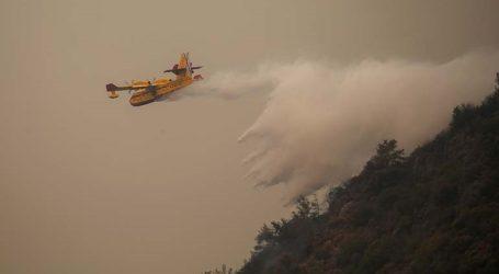 Δασική πυρκαγιά πλησιάζει ηλεκτρικό σταθμό στην επαρχία των Μούγλων