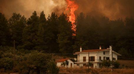 Περίπου 76 χιλιάδες στρέμματα κάηκαν στην Αττική και 197 χιλιάδες στην Β. Εύβοια