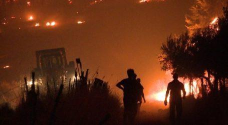 Καλύτερη είναι η κατάσταση με τις φωτιές στην Ανατολική Μάνη