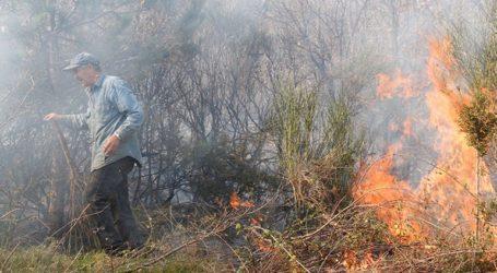 Σε εξέλιξη βρίσκεται η φωτιά στην Ανατολική Μάνη