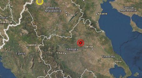 Σεισμός 3,9 Ρίχτερ στην Ελασσόνα