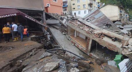 Στους 62 οι νεκροί από τις πλημμύρες στην Τουρκία