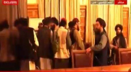 Οι Ταλιμπάν μέσα στο Προεδρικό Μέγαρο της Καμπούλ