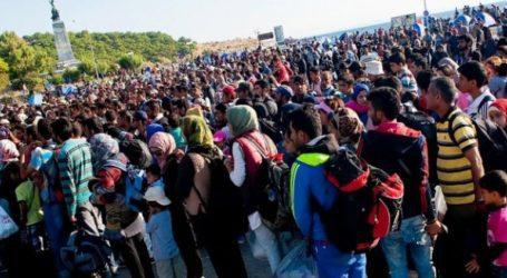 Διαδήλωση Αφγανών προσφύγων ενάντια στην κυριαρχία των Ταλιμπάν