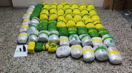 Έξι συλλήψεις για διακίνηση 65 κιλών κάνναβης