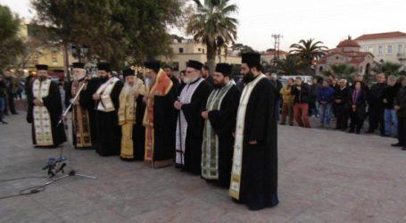 Κοινή προσευχή για τους πρόσφυγες από εκπροσώπους της Καθολικής και Ορθόδοξης Εκκλησίας
