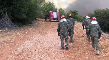 Ο Ελληνικός Στρατός στη μάχη της κατάσβεσης των πυρκαγιών