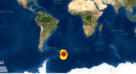 Σεισμός 6,1 βαθμών Ρίχτερ στα Νότια Νησιά Σάντουιτς