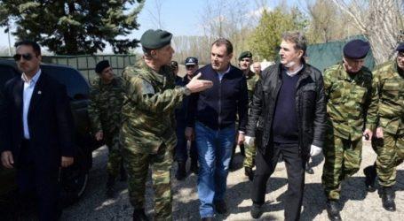 Στον Έβρο οι υπουργοί Εθνικής Άμυνας και Προστασίας του Πολίτη