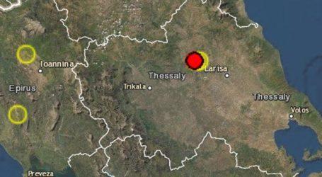 Σεισμός 3,1 Ρίχτερ στην Ελασσόνα
