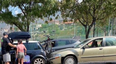 ΤΩΡΑ: Τροχαίο έξω από το γήπεδο του Μαγνησιακού [εικόνες]