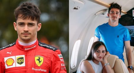 Στη Μύκονο κάνει διακοπές ο πιλότος της Ferrari, Charles Leclerc (φωτογραφίες)
