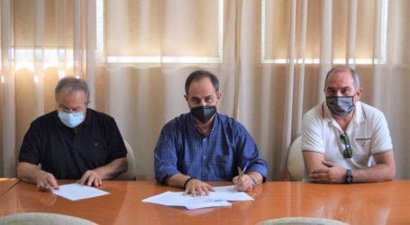 Υπεγράφη η σύμβαση για την αποκατάσταση των ζημιών στο Παλέρμο