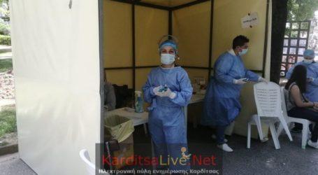 2 θετικά rapid test το Σάββατο 28 Αυγούστου στην Καρδίτσα