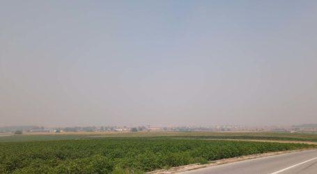 Ατμόσφαιρα …«Πεκίνου» στη Λάρισα, μάσκες υψηλής προστασίας συστήνει η Περιφέρεια – «Πέπλο» αιθαλομίχλης σε όλον τον κάμπο (φωτό)
