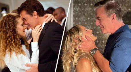 Νέες φωτογραφίες του Mr.Big με την Carrie στα γυρίσματα του «And Just Like That»