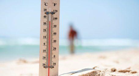 Καίει ο τόπος: Στους 43 βαθμούς σήμερα ο υδράργυρος στη Μαγνησία
