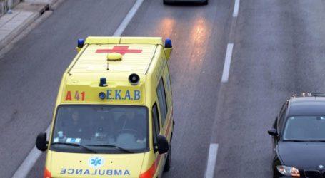 Ανατροπή ΙΧ στον Αλμυρό – Στο Νοσοκομείο Βόλου 55χρονη οδηγός