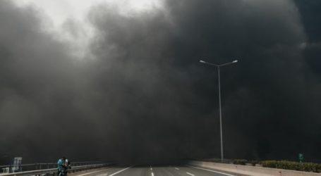 Με μισάωρη καθυστέρηση τα δρομολόγια του ΚΤΕΛ Μαγνησίας για την Αθήνα λόγω της πυρκαγιάς