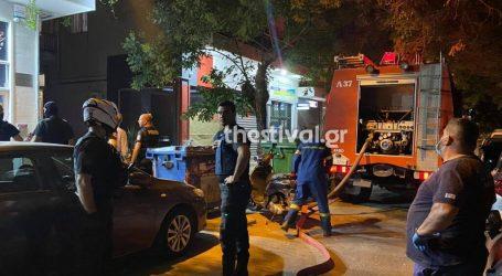 Θεσσαλονίκη – Φωτιά σε διαμέρισμα – Απομακρύνθηκε ζευγάρι ηλικιωμένων