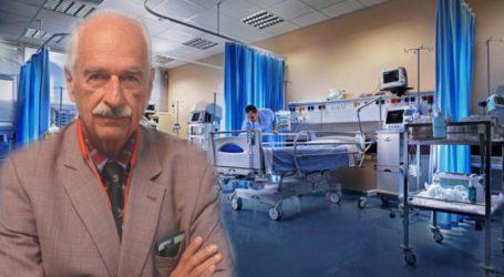 Κ. Γουργουλιάνης: Στους 50 που νοσηλεύσαμε με κορωνοϊό οι 49 ήταν ανεμβολίαστοι