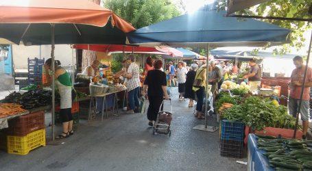 Νέες θέσεις για τις λαϊκές αγορές του Βόλου