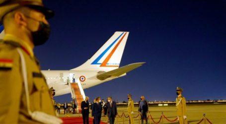 Στο Ιράκ ο Μακρόν για την Σύνοδο με ηγέτες της Μέσης Ανατολής