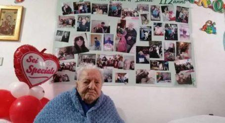 Μαρία Ολίβα – Πέθανε σε ηλικία 112 ετών η γηραιότερη Ιταλίδα