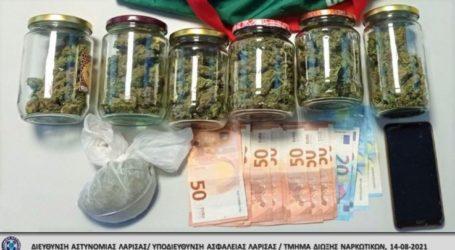"""Λάρισα: Έκρυβε βάζα με χασίς και """"βρώμικα"""" χρήματα στο σπίτι του"""
