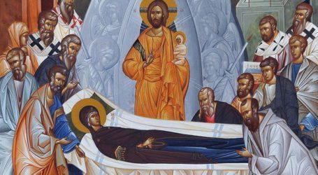 Εορτή Κοίμησης της Θεοτόκου στον Ιερό Ναό της 110 Πτέρυγας Μάχης στην Αεροπορική Βάση Λάρισας