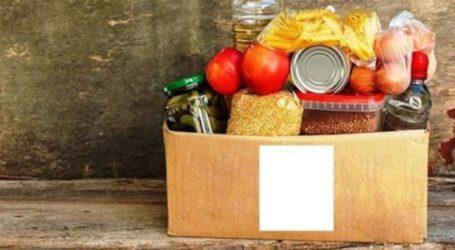 Συγκέντρωση τροφίμων για τους πυρόπληκτους της Εύβοιας από σωματεία του Βόλου