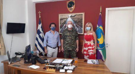 Κοπάνας-Πυργάνη στην 32η Ταξιαρχία Πεζοναυτών για την Ακρόπολη Νέας Αγχιάλου