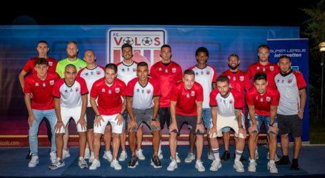 Βόλος: Παρουσίασε τους νέους παίκτες και τη φανέλα του και έθεσε ως στόχο την Ευρώπη