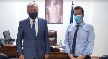 Αθ. Λιούπης: Συναντήθηκε με τον Θάνο Πλεύρη – Συζήτησαν για τον χώρο της υγείας στη Μαγνησία