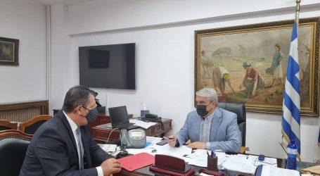 Συνάντηση Μπουκώρου-Κεδίκογλου – Συζήτησαν θέματα της αρμοδιότητας του υφυπουργού Αγροτικής Ανάπτυξης