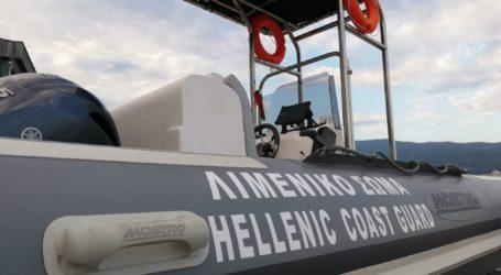 Σκιάθος: Σκάφος με τέσσερα άτομα έπλεε ακυβέρνητο