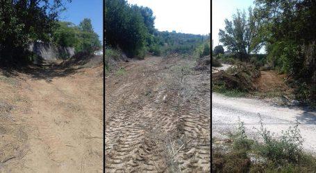 Βελεστίνο: Ξεκίνησε ο καθαρισμός του ρέματος