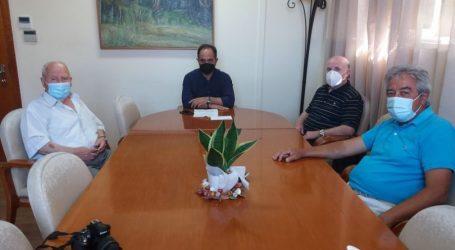 """Συνάντηση """"Φίλων του Γενικού Νοσοκομείου Καρδίτσας"""" με τον Δήμαρχο Καρδίτσας"""