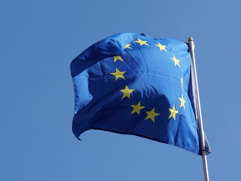 1309eu flag of europe or european union waving in the DULNECT 768x576
