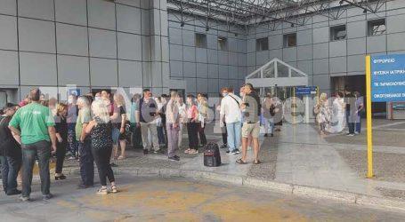 Νοσοκομείο Βόλου: «Απαγόρευση εισόδου» από σήμερα για ανεμβολίαστους υπαλλήλους – Δείτε εικόνες