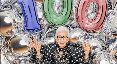 Η Iris Apfel έκλεισε τα 100 της χρόνια και αποκαλύπτει το νόημα της ζωής της