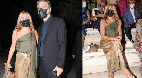Μαρέβα Μητσοτάκη: Με grecian chic outfit στο Ηρώδειο