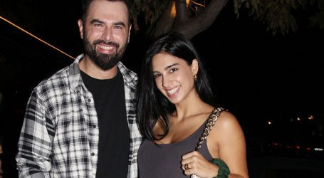 Γιώργος Παπαδόπουλος-Γαλάτεια Βασιλειάδη: Βραδινή έξοδος λίγο πριν τον ερχομό του δευτέρου μωρού τους