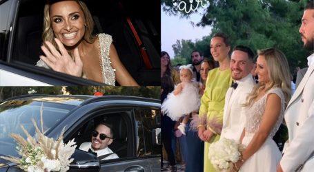 Λευτέρης Πετρούνιας – Βασιλική Μιλλούση: Το φωτογραφικό άλμπουμ από τον παραμυθένιο γάμο τους