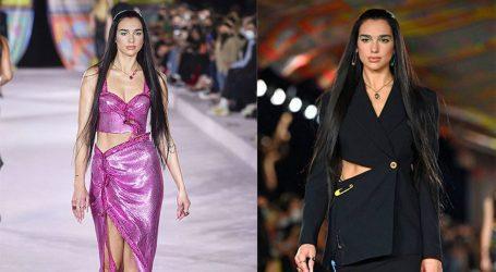 H Dua Lipa έκανε ντεμπούτο στο modeling στην Εβδομάδα Μόδας του Μιλάνου
