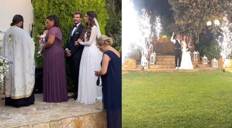 Άκης Πετρετζίκης-Κωνσταντίνα Παπαμιχαήλ: Παντρεύτηκαν και βάφτισαν τον γιο τους!