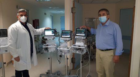 24 φορητά παρακλίνια μόνιτορ παρέλαβε το Νοσοκομείο Βόλου