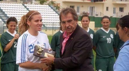 Κατερίνα Τσιάπανου: Η πρώτη γυναίκα προπονητής σε αντρική ομάδα ποδοσφαίρου της Λάρισας!