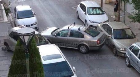 Τροχαίο ατύχημα στο κέντρο του Βόλου [εικόνα]